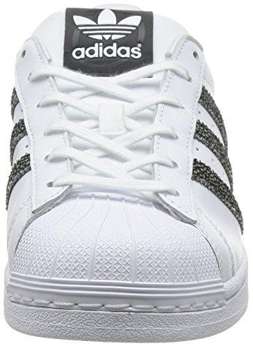 adidas Superstar Unisex Sneakers Blanco / Negro