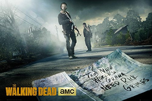 GB eye LTD, The Walking Dead, Rick & Daryl Road, Maxi Poster, 61 x 91,5 cm