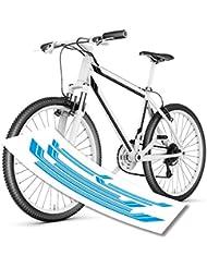 Streifen Stripes Fahrradaufkleber von style4Bike für das tolle Bike| S4B0135