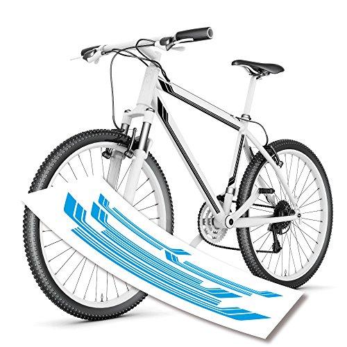 style4Bike Streifen Stripes Fahrradaufkleber tolle Bike| S4B0135