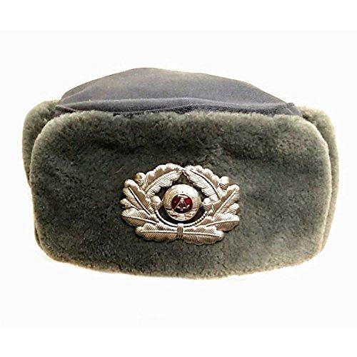 NVA Damen Wintermütze Gr. 54 Offizier Original BäFo Mütze DDR Winter