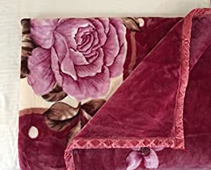 Picaso supersoft Double ply Double bed Mink blanket , 3.7kg, 220*210cm.