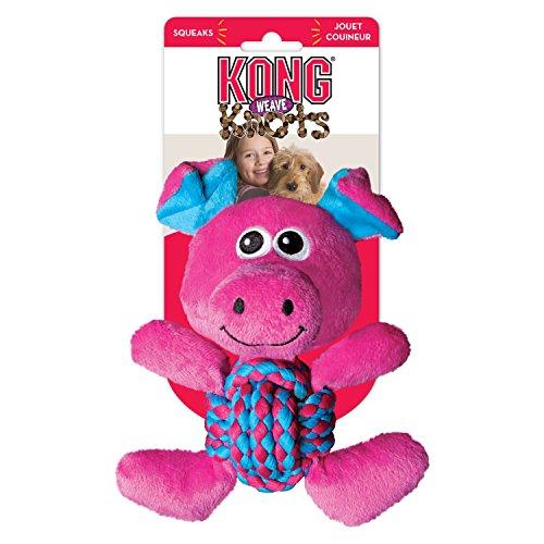 KONG Weave Knoten, Pig, - Hundespielzeug Knots Kong