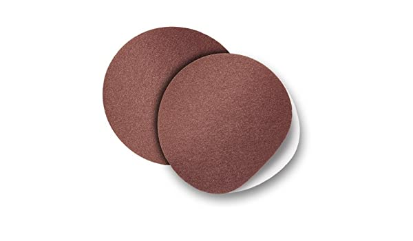 8 CLOTH BACKED PSA ADHESIVE SANDING DISC 80 GRIT 2 DISC PACK BY PEACHTREE WOODWORKING PW6068