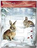 Fold Out Advent Calendar (MED0557) Winter Wonderland - Flittered Finish