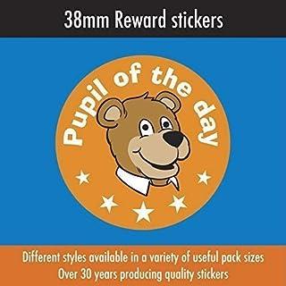 Packung 240 - ' Pupil Of The Day' 38mm Kinder Belohnungs Sticker, Perfekt für Lehrer,Eltern Etc.