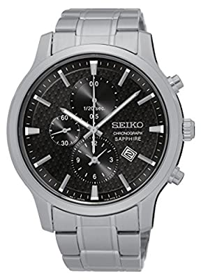 Seiko-Reloj de pulsera hombre cronógrafo cuarzo acero inoxidable sndg67p1 de Seiko