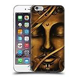 Head Case Designs Golden Buddah Bangkok Buddha Soft Gel Hülle für Apple iPhone 6 Plus / 6s Plus