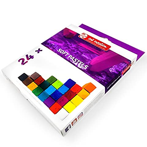 Royal Talens – Art Création de craie pastels – Lot de 24