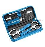 Zwilling Manicure Nagelpflege Set Reißverschluss-Etui 5-teilig blau