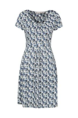 Mountain Warehouse Orchid Patterned Womens UV Dress - UPF50 Beach Dress, Lightweight Ladies Summer Dress, Pockets, Durable Day Dress - for Spring, Travelling, Poolside