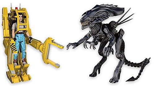 Paquete de 3 Figuras de acción Aliens Reaction - Ellen Ripley, Power Loader & Alien Queen 1