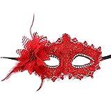 Cloud ROM Masque vénitien en Filigrane en métal pour Halloween, Bal de Fin...