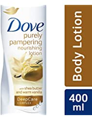 Dove Purely Pampering Nourishing Lotion with Shea Butter and Warm Vanilla, 400ml