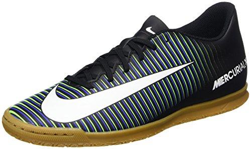 Nike 831970-014 Herren Hallenfußballschuhe Mehrfarbig (Black/white-paramount Blue)