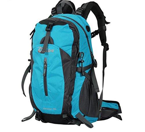 Outdoor-Klettern Tasche Rucksack Männer und Frauen reisen Berg Camping mit regen Abdeckung 40L 50L Schwarz