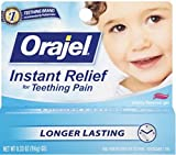 Baby Orajel Teething Gel - .33 oz.