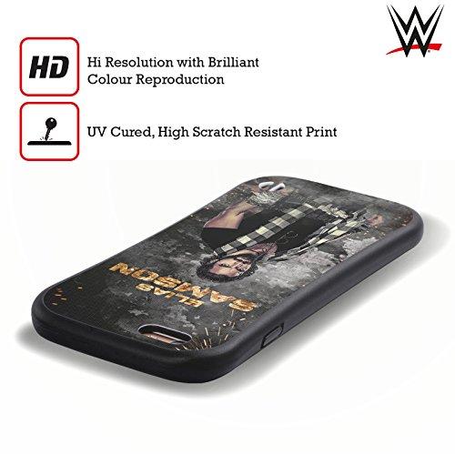 Ufficiale WWE LED Immagine Elias Samson Case Ibrida per Apple iPhone 6 Plus / 6s Plus LED Immagine