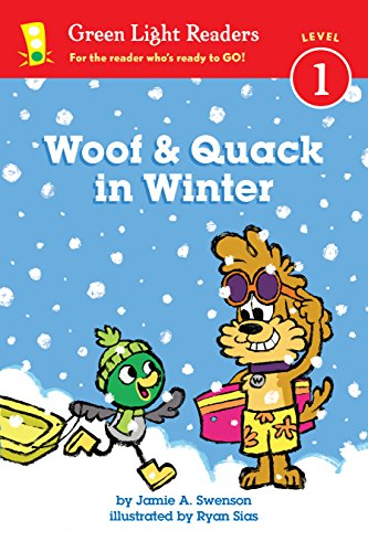 Woof and Quack in Winter (Green Light Readers Level 1) (English Edition)
