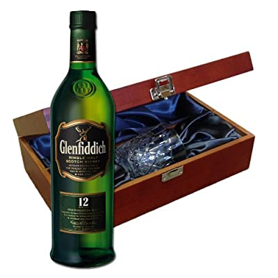 Glenfiddich 12 Year Old In Luxury Box With Royal Scot Glass