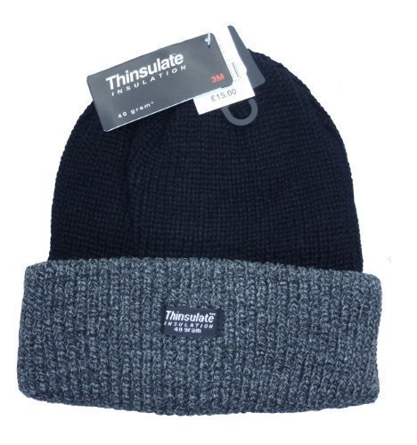 Unisex-MensWomens-Thinsulate-Heavy-Knit-WinterSki-Thermal-Hat-40g-Thermal-Warm-Hat