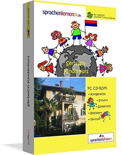 Serbisch-Kindersprachkurs von Sprachenlernen24: Kindgerecht bebildert und vertont für ein spielerisches Serbischlernen. Ab 5 Jahren. PC CD-ROM für Windows 10,8,7,Vista,XP/Linux/Mac OS X