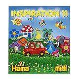 En travaillant avec les perles HAMA, vous allez avoir besoin de nouvelles idées et d'inspiration après un moment donné. Le livre inspiration 10 est repli d'idée pour des projets.