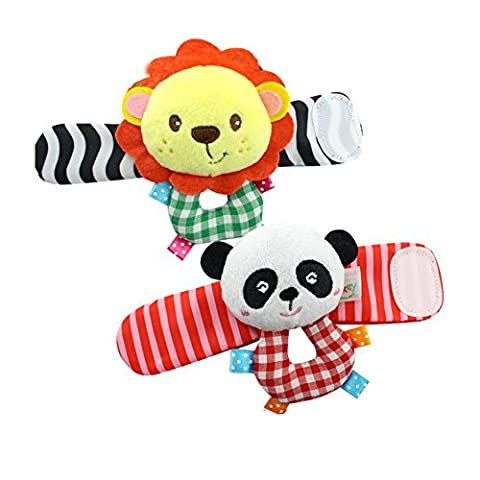 Baby Wrist Rattle Toy Hands Foot Finder Educational Development Toy for Inflants,Toddlers
