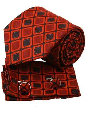 EAC1C03 Romance Productos Multi-color de seda para hombre de la corbata a cuadros Regalo Por Epoint