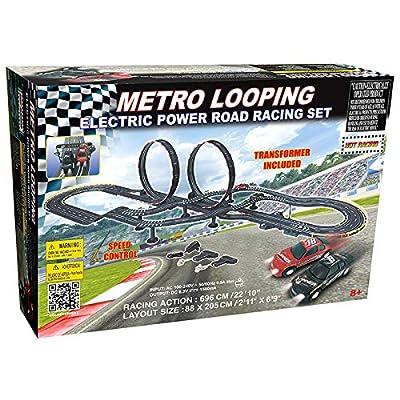 GB - Mega Circuit Electrique Double Loopings