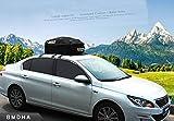 BMDHA Auto Dachbox Wasserdicht Frachttasche 500L Große Kapazität Passend Für Jedes Automodell (Keine Notwendigkeit Für Zusätzliche Dachgepäckträger),B