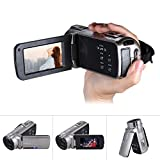 Docooler Andoer Video Camera HDV-312P 1080P Full HD Portable Home-use DV with Rotating LCD Screen Max. 20 Mega Pixels 16× Digital Zoom