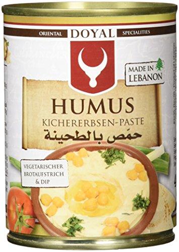 Doyal Humus Kichererbsenpaste, 12er Pack (12 x 400 g)