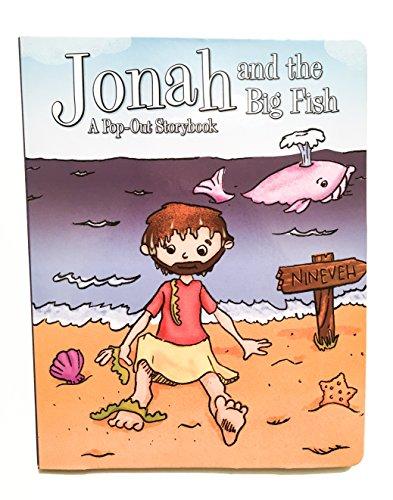 Jonah und der Big Fish-Ein Pop Out Storybook-Interaktives Pop Out Bibel Story