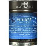 Hallingers Tee Sternzeichen Widder Premiumdose, 1er Pack (1 x 115 g)