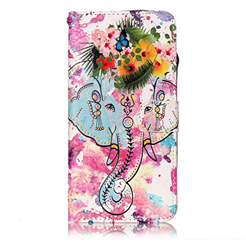 iPhone-6S-Custodia-Cover-iPhone-6-JAWSEU-iPhone-66S-47-Custodia-Cover-Wallet-Pouch-Lusso-Liscio-Marmo-Design-Creativo-Custodia-per-Apple-iPhone-6S-Telefono-Custodia-Shock-Absorption-con-Morbido-Silico