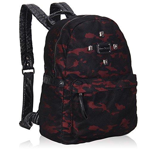 Imagen de veevan  bolso mujer  escolares  cuero sintético camo rojo alternativa