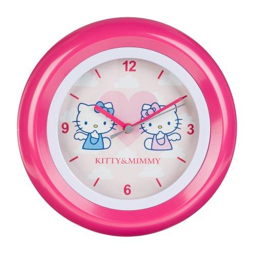Hello Kitty Kinder Wanduhr Analog Rosa HK28-5 (Hello Kitty-geschenke Für Kinder)