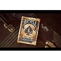 SOLOMAGIA Bicycle - Vintage Series 1800 - Blue Back - Marked - Card Games - Magic Tricks and Magic