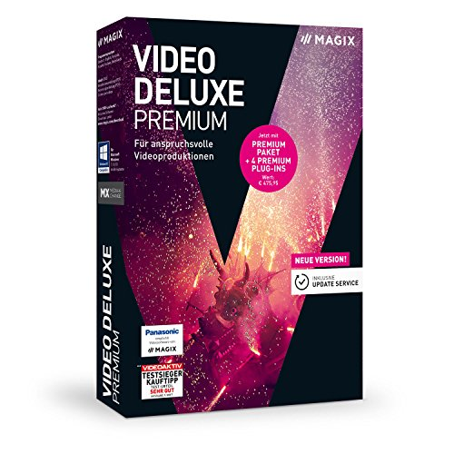 MAGIX Video deluxe - 2018 Premium - Professionelle Videobearbeitung für Windows