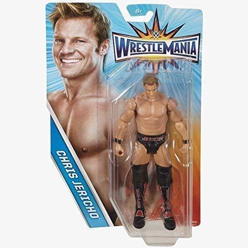 WWE Wrestlemania 33 Básico Serie Figura De Acción -'Y2J' Chris Jericho - El Propietario De La Lista