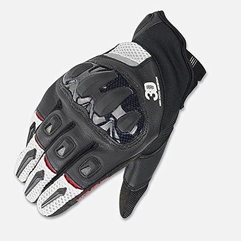Claw Monster Motocross Reithandschuhe Fell und Leder Cavalier Bike Motorrad Handschuhe