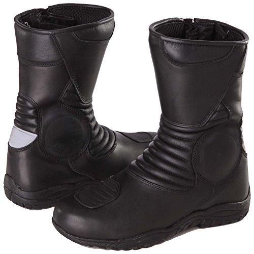 Modeka Stiefel Voyager Pro Motorradstiefel 43 - Gesteppte Stiefel