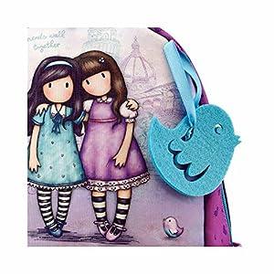 51peCybeqvL. SS300  - Gorjuss - Mochila Escolar Pequeña Gorjuss Friends Walk Together - -5% En Libros