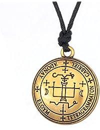 Attaches de type Wicca le Sigil de l'archange Gabriel Talisman Amulette Pendentif Collier