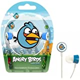 Gear4 HAB005G-Blue Tweeters Ecouteurs intra-auriculaires  Angry Bird Bleu