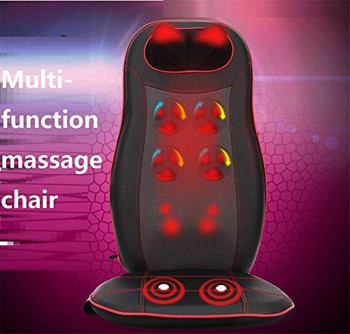 SHISHANG Multifunktionale Massagekissen Upgrade-Automassagestuhl (Beine, Hüfte, Nacken, Hüfte, Rücken, Fuß) Infrarot-Magnetfeldtherapie Winkel Falten abnehmbare freie Einstellung