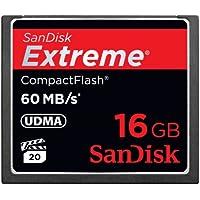 SanDisk Extreme Compact Flash 16GB Speicherkarte