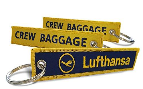 lufthansa-crew-baggage-keyrings-x2
