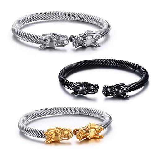 VNOX Jewelry B-095SBR